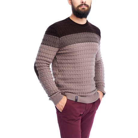 Textured Sweater // Cappuccino (S)