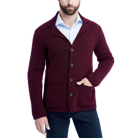 Button Up Jacket // Bordeaux (S)