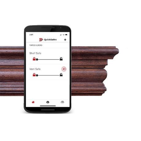 QuickShelf // Colonial Bluetooth (Walnut)