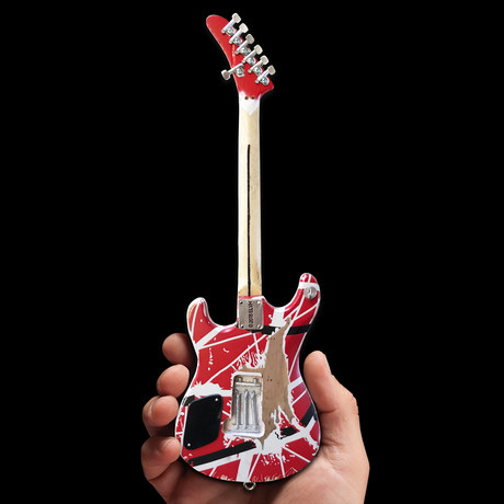 Eddie Van Halen // EVH Striped 5150 Mini Guitar // Officially Licensed