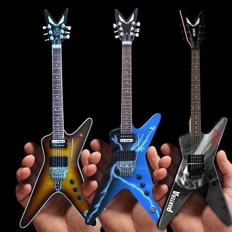 Dean Dimebag // Signature Pantera ML Mini Guitar Collection // Set of 3
