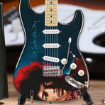 Jimi Hendrix // Both Sides of the Sky Fender™ Strat™ Mini Guitar Replica