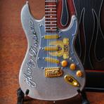 Licensed Fender™ Strat™ Harley Davidson Mini Guitar Replica
