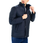 Dewberry // Brussels Overcoat // Dark Blue (Small)
