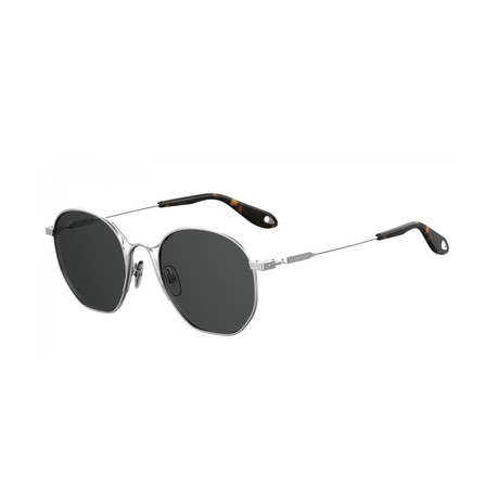 Givenchy // Women's GV7093 Sunglasses // Palladium + Gray