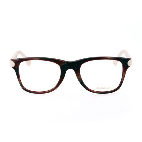 Women's BA5034 Optical Frames // Horn
