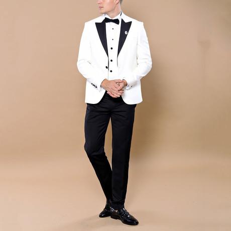 Chandler 3-Piece Tuxedo // White (Euro: 44)