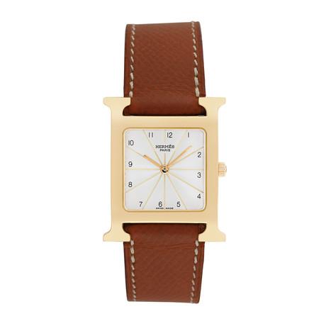 Hermes H Watch Quartz // HH1.501 // Pre-Owned