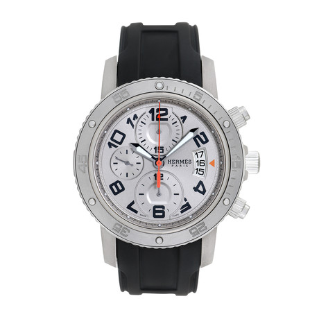 Hermes Clipper Chronograph Automatic // CP2.941 // Pre-Owned