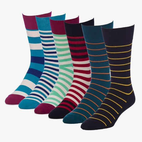 Commander Acoustic Crew Sock // Pack of 6