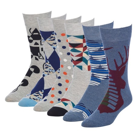 Agent Stag Crew Sock // Pack of 6