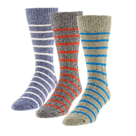 Semi Stripe Semi Stripe Boot Sock // Pack of 3