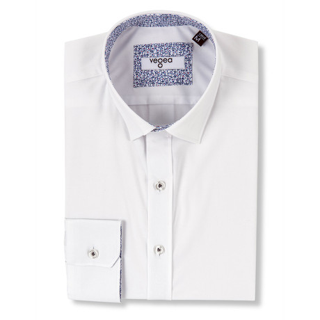 Marcelo Slim Fit Shirt // White (XS)
