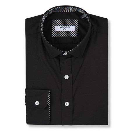 Guido Slim Fit Shirt // Black (XS)