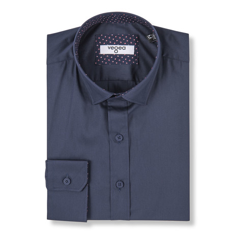 Este Slim Fit Shirt // Blue (XS)