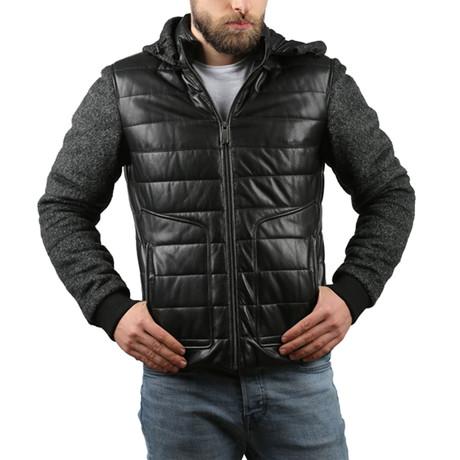 Vgtl Leather Jacket // Black (XS)