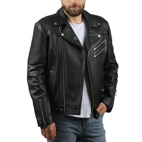 Kalin Leather Jacket // Black (XS)