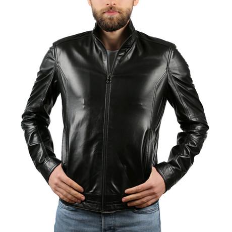 Jenson Venedik Leather Jacket // Black (XS)
