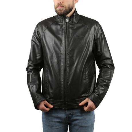 Vegas Leather Jacket // Black (XS)