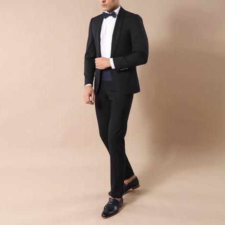 Milo Slim Fit 2-Piece Tuxedo // Navy (Euro: 44)