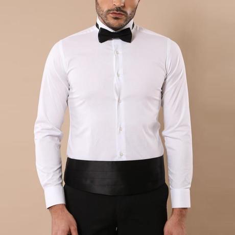 Jacob Tuxedo Shirt // White (S)