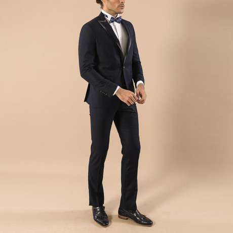 Tate Slim Fit 2-Piece Tuxedo // Navy (Euro: 44)