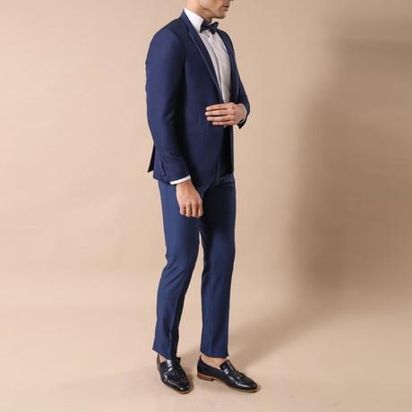 Thanh Slim Fit 2-Piece Tuxedo // Navy (Euro: 44)