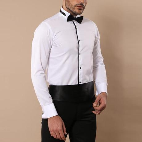 Moses Tuxedo Shirt // White (S)