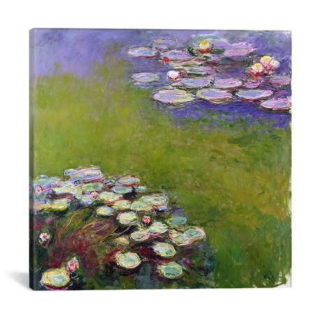"""Waterlilies, 1914-17 (12""""W x 12""""H x 0.75""""D)"""
