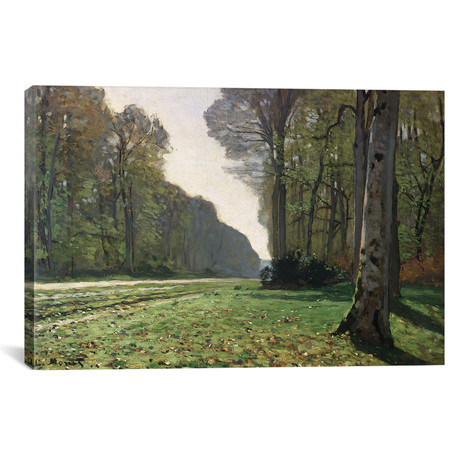 """The Road to Bas-Breau, Fontainebleau (18""""W x 12""""H x 0.75""""D)"""