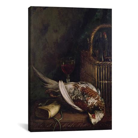 "Still Life with a Pheasant, c.1861 (12""W x 18""H x 0.75""D)"