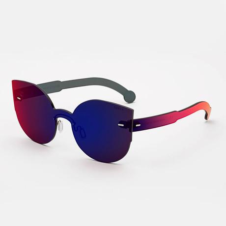 Women's Tuttolente Lucia Sunglasses (Red)