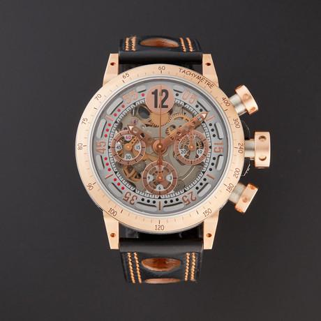 B.R.M. V8-44 Chronograph Automatic // V8-44-GT-5N-SQB // Store Display