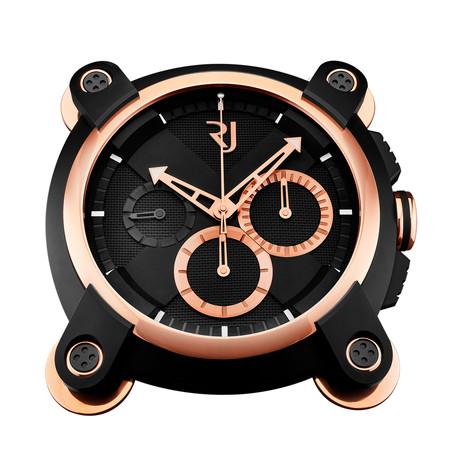 Romain Jerome Chronograph Quartz Wall Clock // XPOS.020.SI