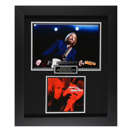 Tom Petty Signed