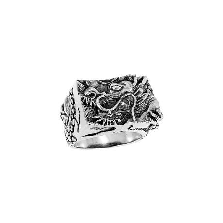 BroManse Silver Dragon Ring (9)