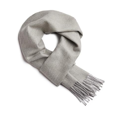 Scarf Exclusive Herringbone // Laurel Green + Silver
