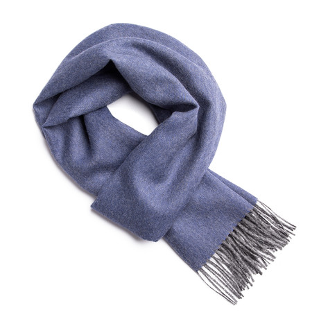 Scarf Exclusive // Blue + Gray