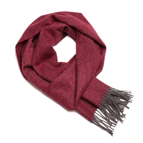 Scarf Exclusive // Cherry + Gray