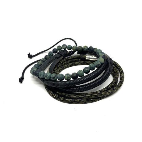 Variety Bracelet Set // 3-Pack // Rhyolite Jasper