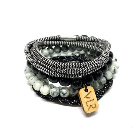 Variety Bracelet Set // Zebra