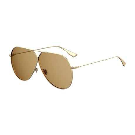 Women's Stellaire 3 Sunglasses // Gold + Brown
