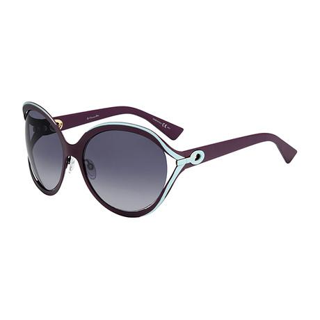 Women's Elle 1 Sunglasses // Aqua + Burgundy