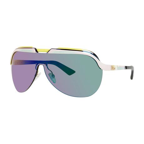 Women's Solar Sunglasses // Pink + Yellow