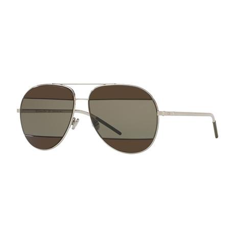 Unisex Split 2 Sunglasses // Gunmetal