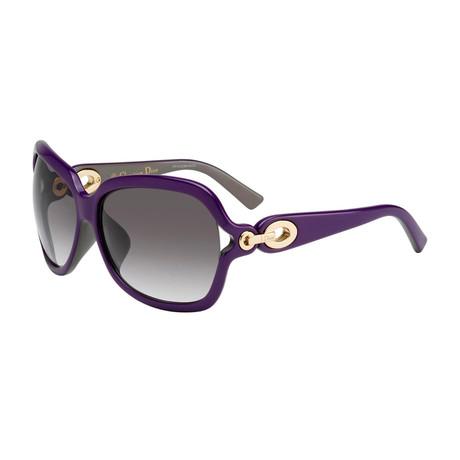 Women's Diorissimo Sunglasses // Purple
