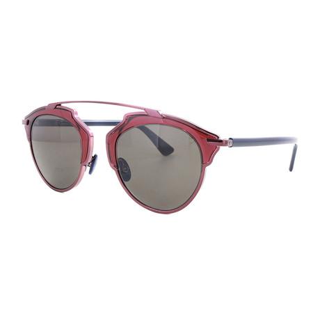 Unisex So Real Sunglasses // Plum + Blue
