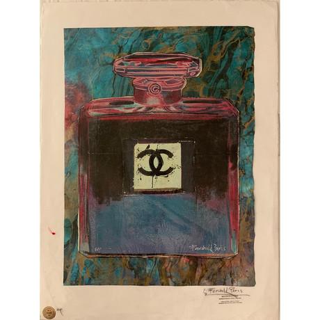 Chanel Bottle // Crushed Rosebuds Papyrus