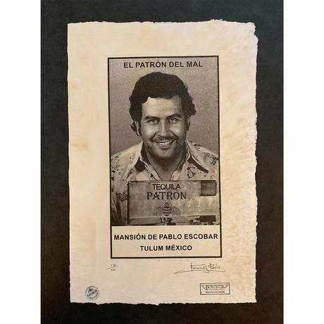 Patron Tequila // Pablo Escobar Mug Shot