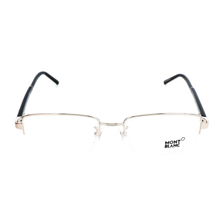 Men's MB0581-F Optical Frames // Shiny Palladium